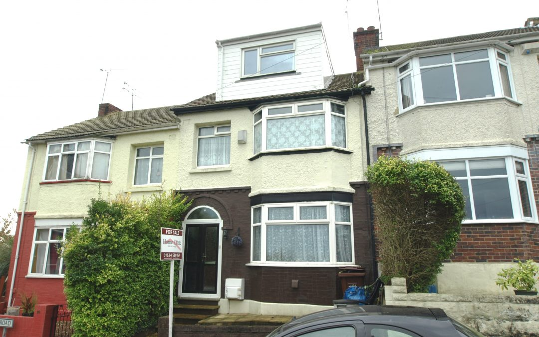 4 bed terrace house