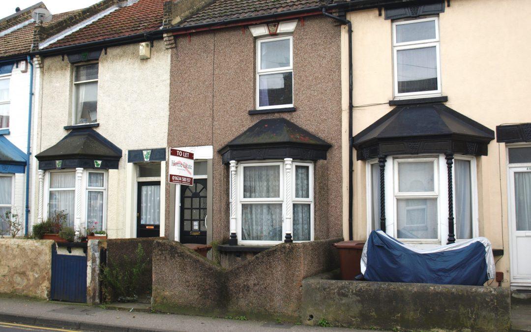 3 Bed Terrace Railway Street Gillingham